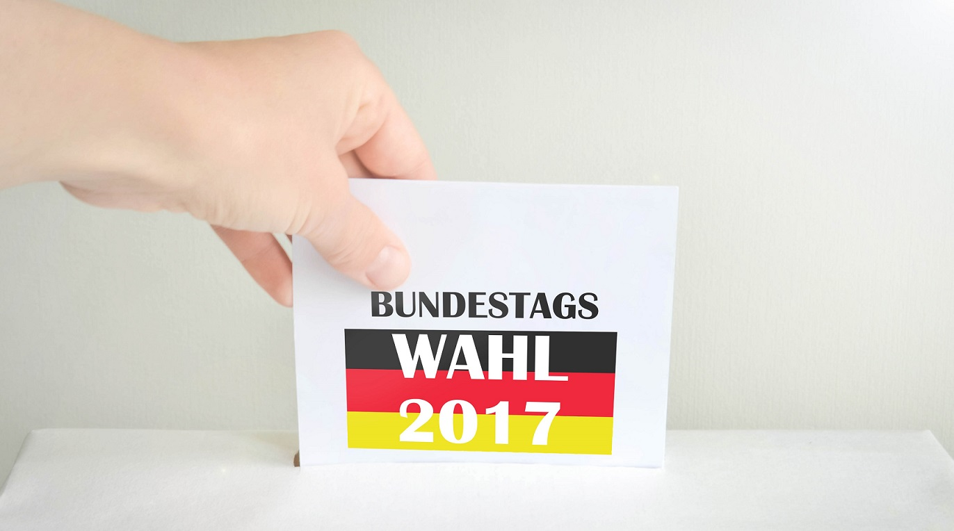 Wahlurne zur Bundestagswahl